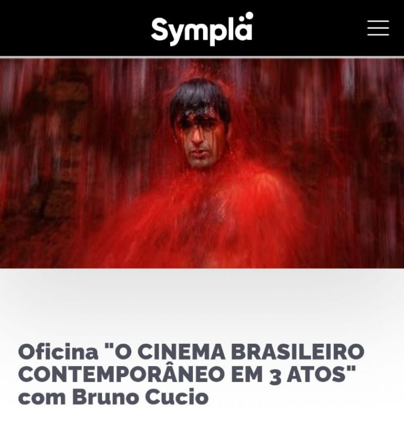 """Oficina sobre """"O cinema brasileiro contemporâneo em 3 atos"""" está com inscrições abertas"""