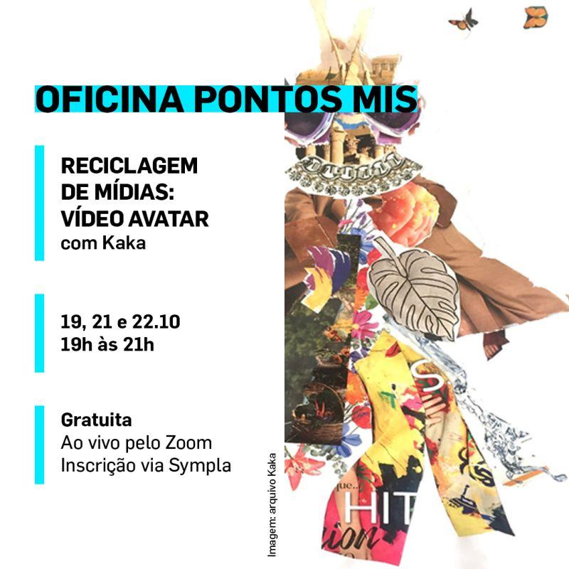 Duas oficinas culturais gratuitas do projeto PontosMIS estão com inscrições abertas