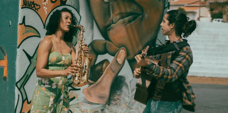 """Live do projeto """"A formação do músico para a sociedade"""" traz curiosidades sobre o saxofone"""