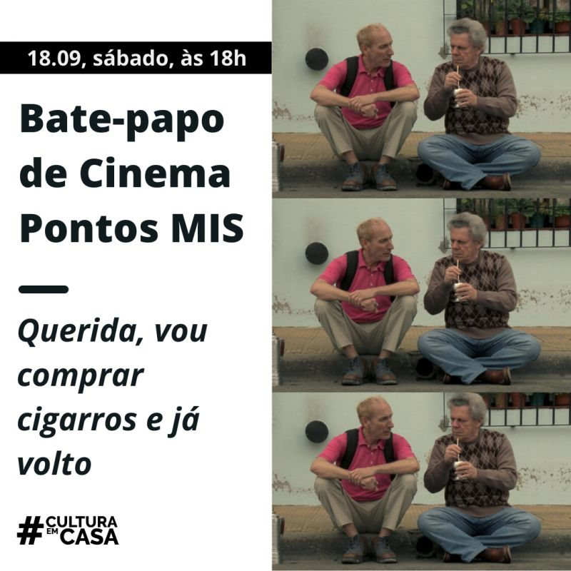 """Confira as próximas atrações do """"Bate-papo de cinema do #MISemCasa"""""""
