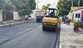 Rua Aluízio Medeiros, no Jd. Amanda, recebe novo asfalto