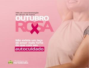 Prefeitura transmite palestra ao vivo sobre prevenção ao câncer de mama no canal oficial no YouTube