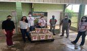 Entidades cadastradas ao Banco de Alimentos da Prefeitura recebem cestas básicas doadas pela empresa Patrus