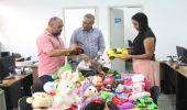 Brinquedos doados para o evento Natal Sustentável vão alegrar crianças em situação de vulnerabilidade