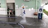 Região do Jd. Nova Europa e unidades de saúde passam por descontaminação