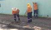 Serviços de manutenção e limpeza são realizados em onze bairros de Hortolândia