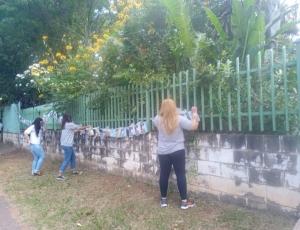 CRAS Novo Ângulo realiza ação de conscientização sobre violência contra crianças e adolescentes