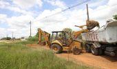Obra de nova rua no Jd. Terras de Santo Antônio começa com terraplenagem