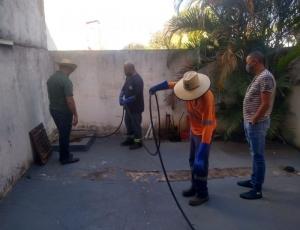 Prefeitura realiza manutenção em redes de esgoto e de águas pluviais em três bairros de Hortolândia