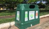 Prefeitura retoma coleta seletiva por meio de contêineres