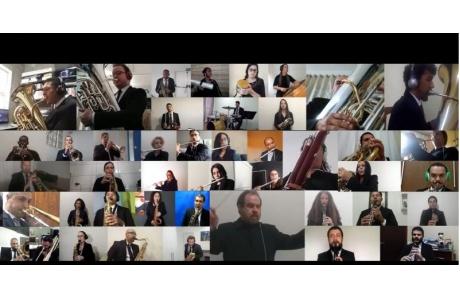 Músicos da Banda Municipal relatam desafio de gravar concerto de aniversário individualmente, em casa