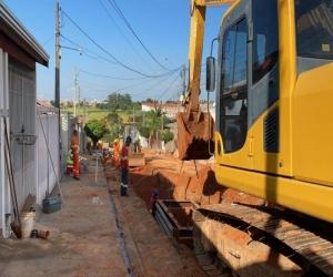 Prefeitura amplia sistema de drenagem no Jd. Terras de Santo Antônio