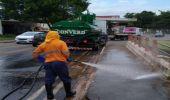 Limpeza do Ribeirão Jacuba e ações de prevenção amenizam impacto das chuvas