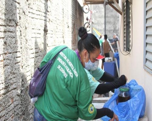 Prefeitura de Hortolândia faz busca e elimininação de criadouros de Aedes aegypti em três bairros da cidade nesta semana