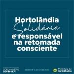 No primeiro dia da retomada consciente e responsável, Prefeitura de Hortolândia orienta comerciantes