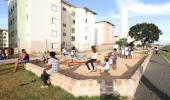 Prefeitura inaugura praça no Jd. Novo Ângulo e, em breve, entregará creche e UBS reformada para população