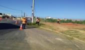 Jd. Terras de Santa Maria recebe mutirão de limpeza e poda do mato