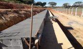 Construção da arquibancada do Campo da Confibra entra em nova etapa