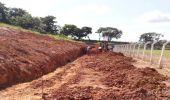 Prefeitura continua construção de arquibancada no Campo da Confibra