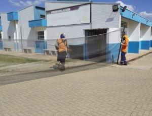 Unidades de saúde de Hortolândia recebem ações de zeladoria