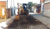 Começa obra de asfalto em três ruas do Parque Peron
