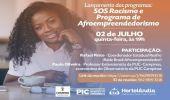 """Prefeitura de Hortolândia lança os programas """"Afroempreendedorismo"""" e """"SOS Racismo"""", nesta quinta-feira (02/07)"""